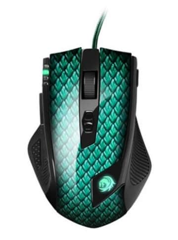 Sharkoon Drakonia Gaming Laser Maus grün