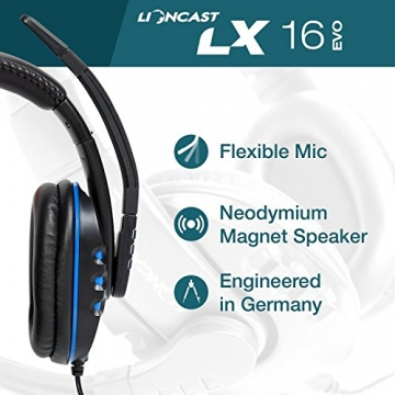 Lioncast LX16 Evo Gaming Headset